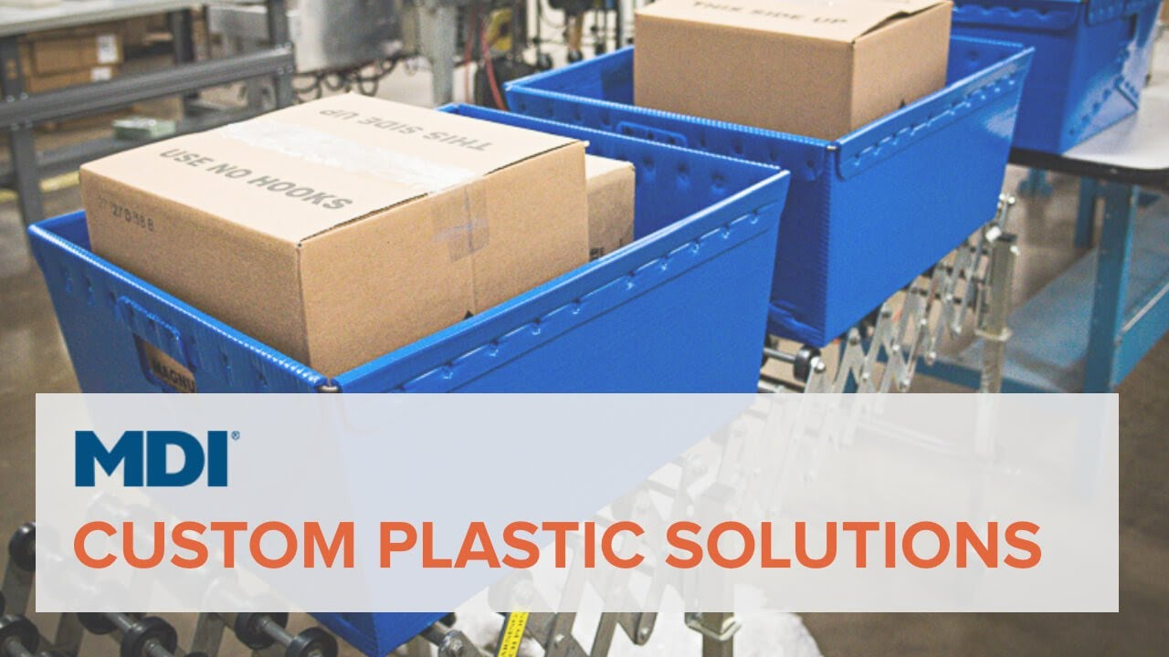 Custom Corrugated Plastic Packaging | Solutions + Services | MDI