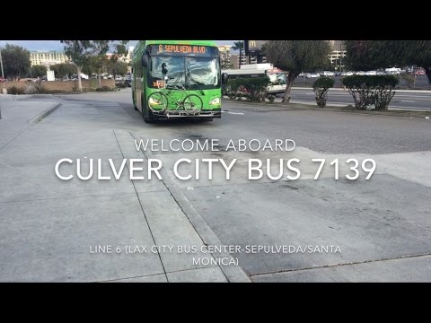 Culver City Bus 2016 New Flyer XN40 #7139 | Coin Lloyd's Tra