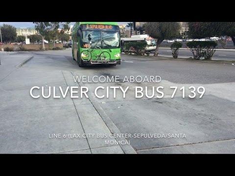 Culver City Bus 2016 New Flyer XN40 #7139 | Coin Lloyd's Transit Hub