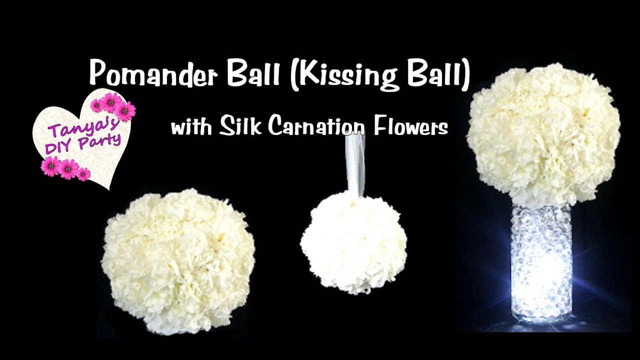 Diy pomander ball kissing ball tutorial youtube mightylinksfo