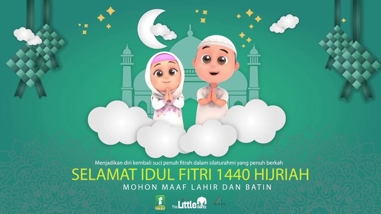 Nussa Selamat Hari Raya Idul Fitri 1440 H Youtube