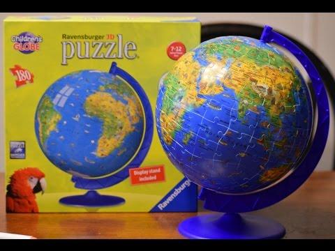 Ravensburger 180 piece globe puzzleball youtube ravensburger 180 piece globe puzzleball gumiabroncs Choice Image