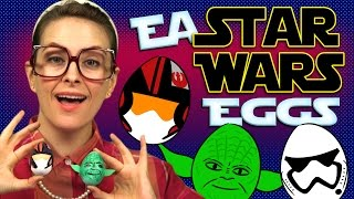 Star Wars Easter Egg Craft - Storm Trooper, Yoda & Poe | Arts And Crafts With Crafty Carol