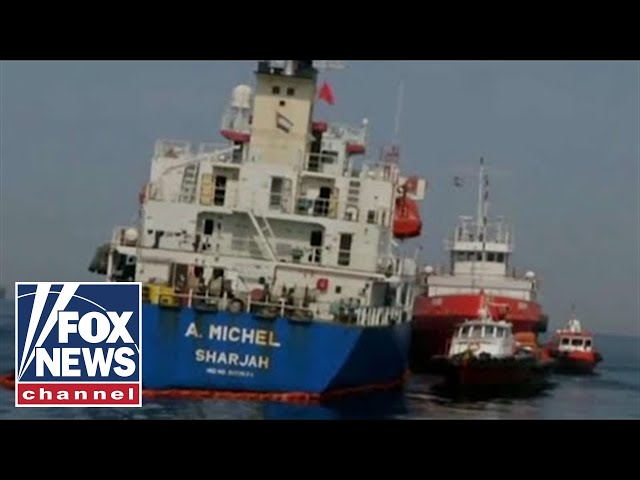 Iran announces it seized foreign oil tanker