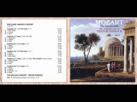W. A. Mozart - Symphony No. 5 in B-Flat Major, K. 22: I. Allegro