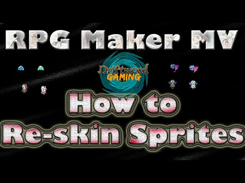 How to Reskin Sprites - RPG Maker MV Tutorial