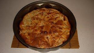 Готовим яблочный пирог на сметане