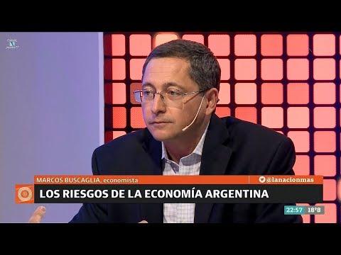 """M.Buscaglia sobre la economía, en """"Odisea Argentina"""" de C.Pagni - 04/12/17"""