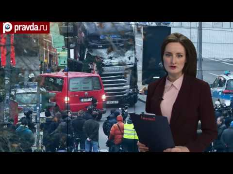 A truck crashes Christmas market in Germany