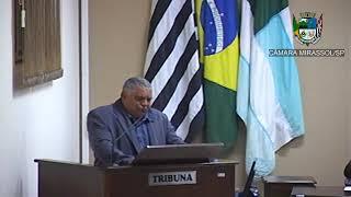 14ª Sessão Ordinária - Vereador Mineiro