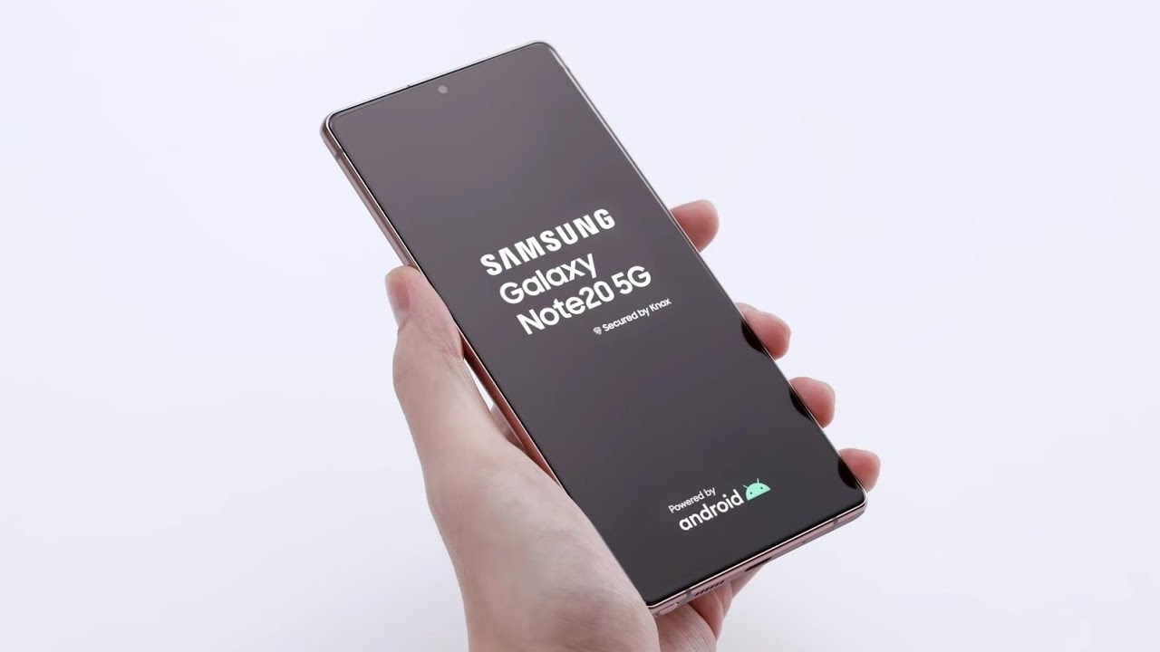 Unboxing the Galaxy Note20 5G !!!