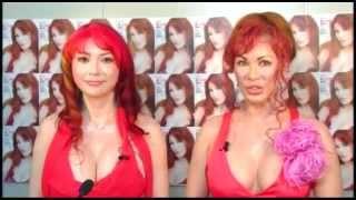 新作ビューティブックを発売する叶恭子と叶美香が、USTREAM ポニーキャ...