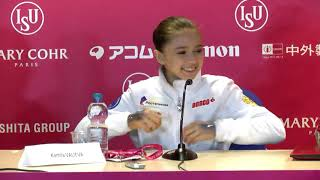Press Conference Junior Grand Prix Final 2019 2020