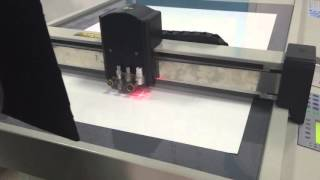 Cardboard paper board cnc cutting table sign making cutting machine