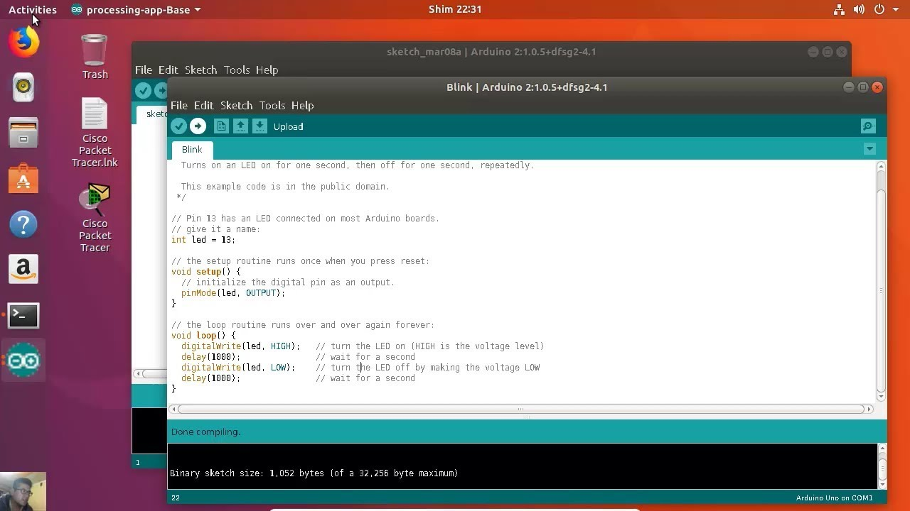 Arduino uno for internet of things install ide