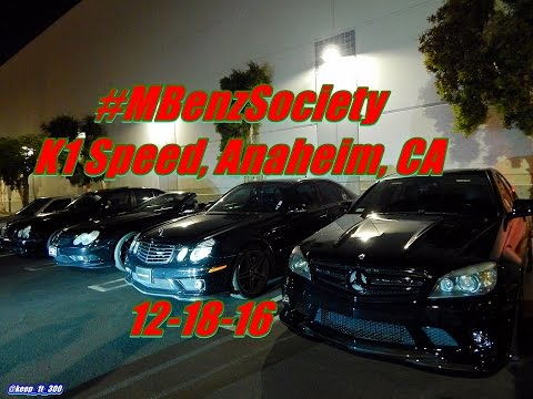 #MBenzSociety K1 Speed Meet 12-19-16 w/ LOUD AMG Sounds