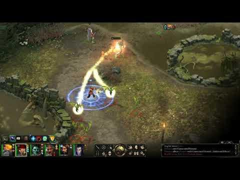 Pillars of Eternity Evil Playthrough in Hard (HD) - Bog Bats in Mowrghek Ien |
