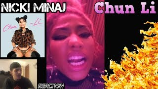 She Killed It! - Nicki Minaj | Chun Li Official Video | REACTION
