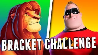 DISNEY vs PIXAR: Bracket Challenge! - Jon Solo