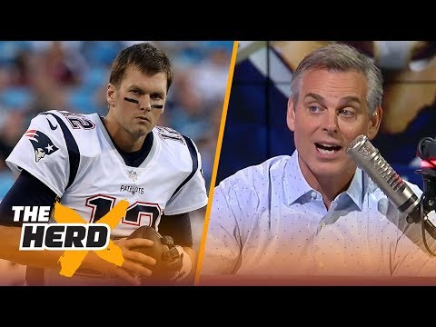 Colin on Brady cutting his radio interview short, Baker's challenges with Browns | NFL | THE HERD