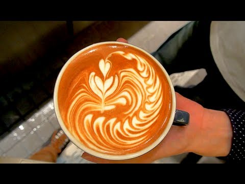 Latte Art Tulip Latte Art - Wave Tulip...