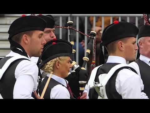World Pipe Band Championships 2018 - Grade 1 Final - Medley - Scottish Power