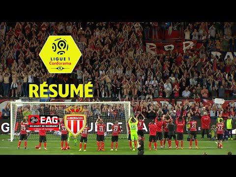 EA Guingamp - AS Monaco ( 3-1 ) - Résumé - (EAG - ASM) / 2017-18