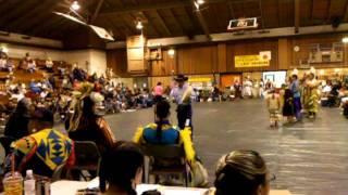 Susanville California Powwow 2011 Hand drum Contestant 3