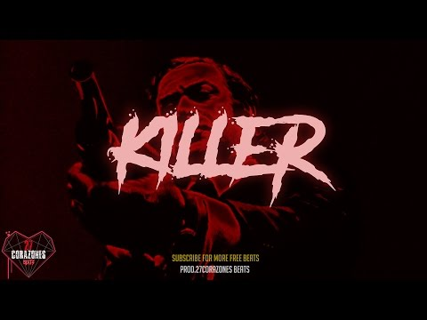 'killer' FREE hard trap beat 2017 insane aggressive type beat | hard 808 | prod. 27Corazones Beats