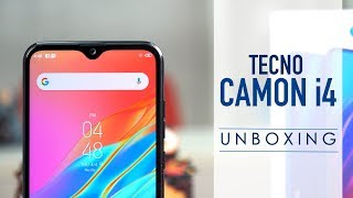 Tecno Camon i4: Unboxing in Hindi | Quick Review | Comparison with Samsung Galaxy M10
