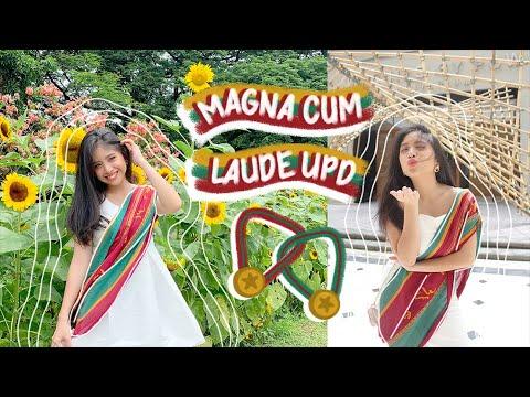 🎓 Graduating Magna Cum Laude At Arki UPD 🌻 (Vlg. 15)