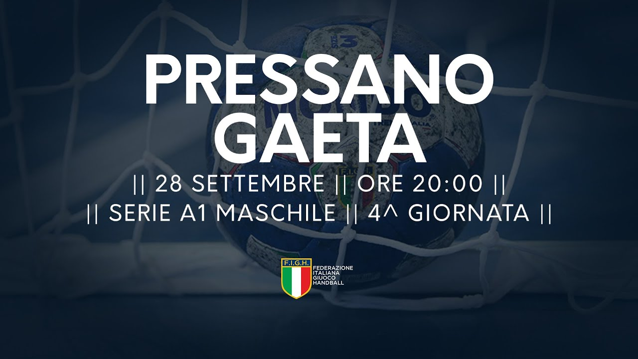 Serie A1M [4^]: Pressano - Gaeta 34-22