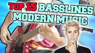 TOP 15 POP BASSLINES