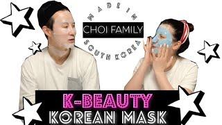 kore maskesi pijama partisi k mask k beauty south korea choi family 38