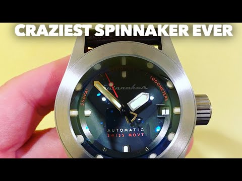 SPINNAKER PICCARD 1000M Dive Watch! This Watch Is INSANE!
