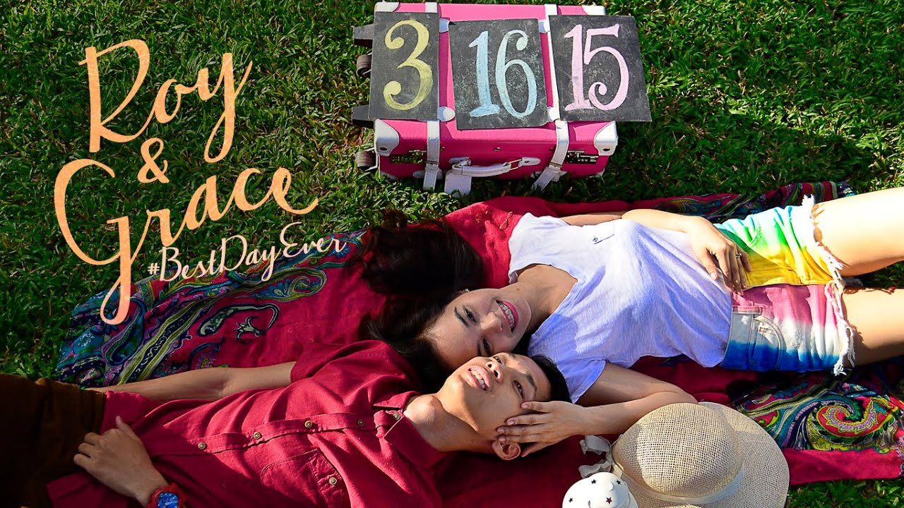 Roy and Grace Prenup Save The date Video YouTube – Wedding Save the Date Video
