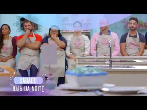 "chamada-""bake-off-brasil-mão-na-massa""-episódio-02- -sábado-(18/08/2018)"