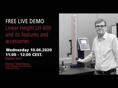 LH-600 Live Demonstration