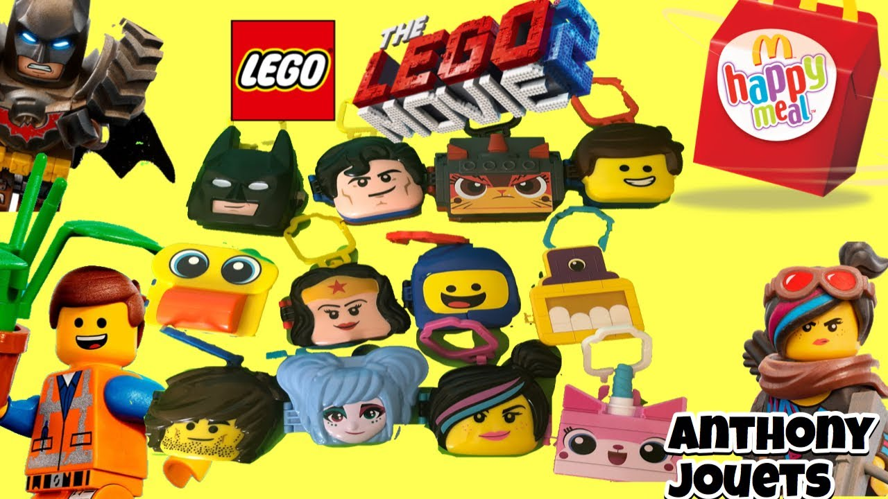Aventure Lego Movie 2 La Toys 2019 Meal Happy Mcdonalds Grande N0nm8w