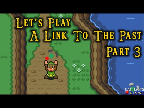 Let's Play A Link to the Past Pt. 3 - Less Talk, More Concus