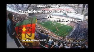 1990 Fifa World Cup Italia West Germany all matches, goals