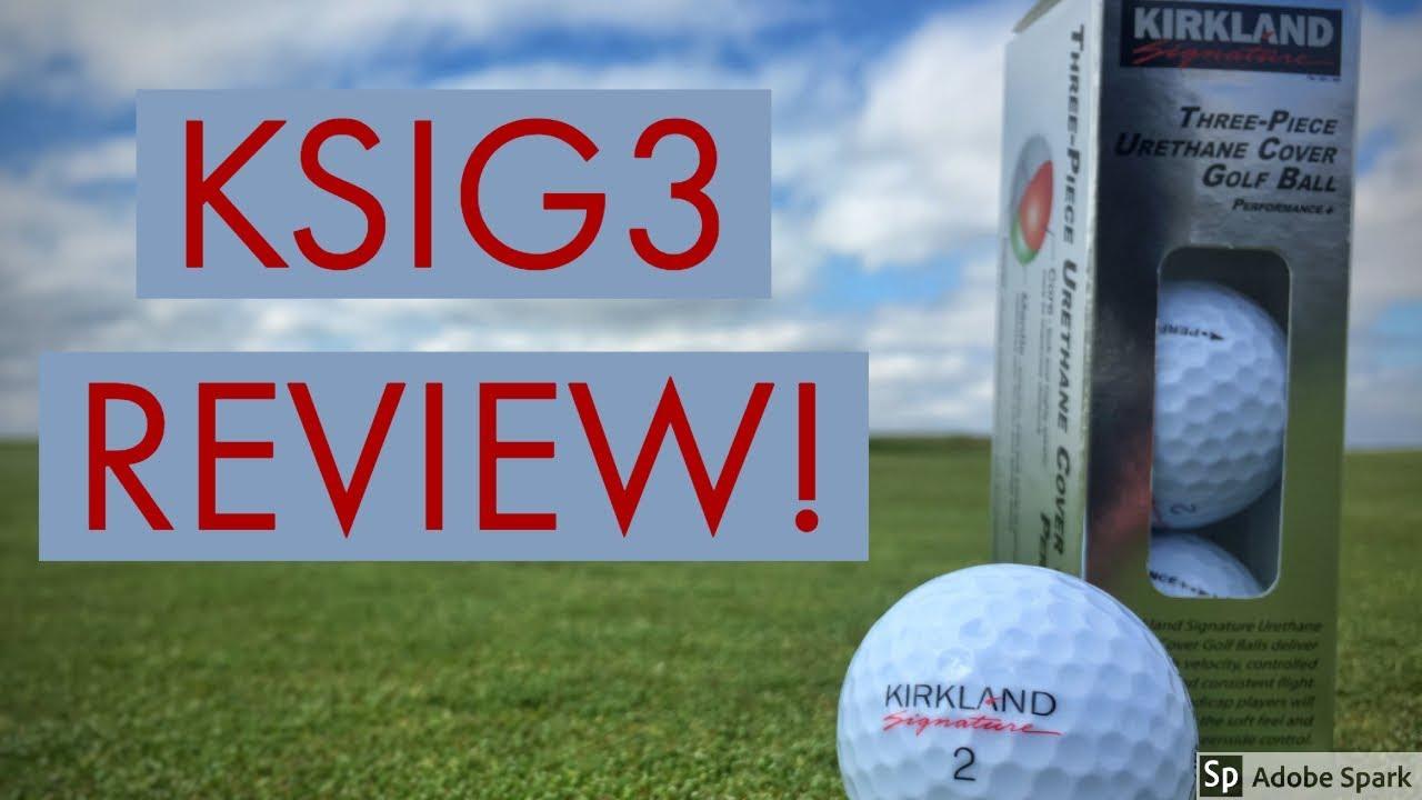 Kirkland Signature 3-Piece Urethane Golf Ball Review - Eli Beaverson