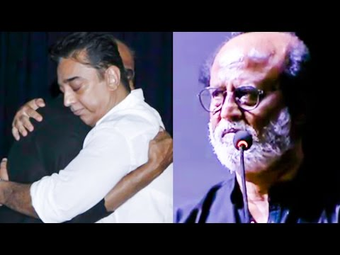 """You have all seen just 10 percent of Kamal's anger""- Rajini 