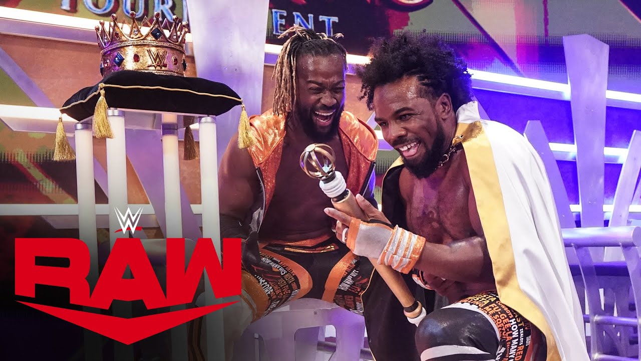 Download Xavier Woods vs. Jinder Mahal – King of the Ring Tournament Semifinals Match: Raw, Oct. 18, 2021