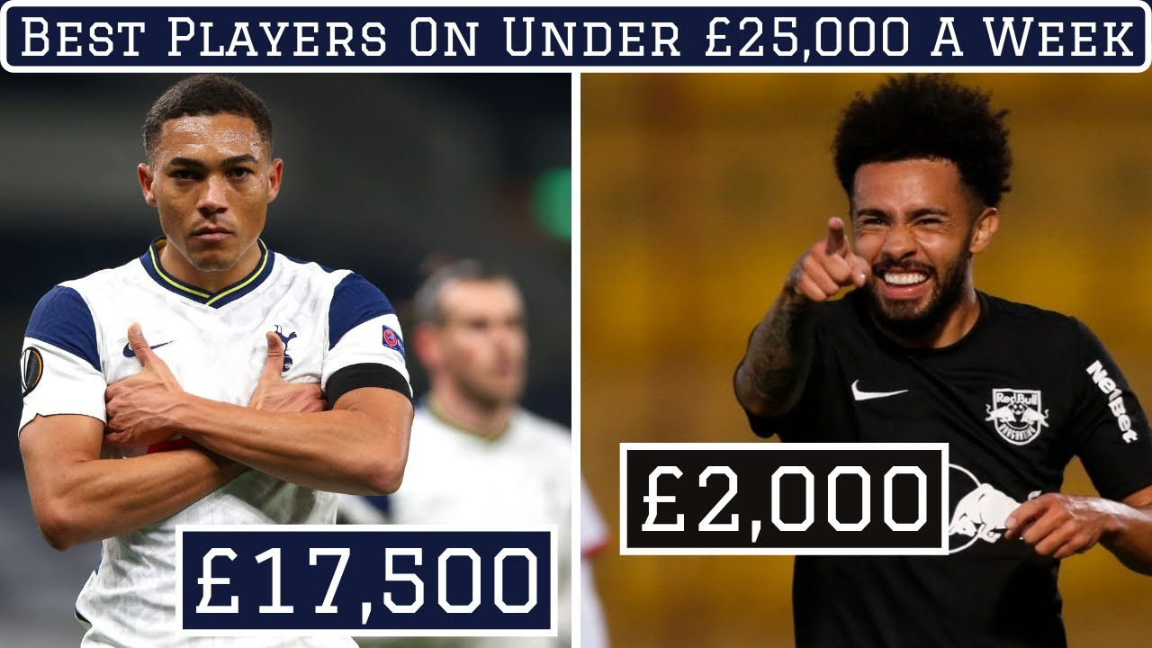 7 Best Footballers On LESS Than £25,000 A Week (2021)