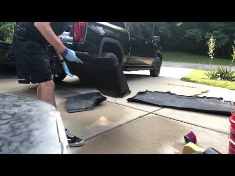 How To Clean Plastic Floor Mats (Weathertech)