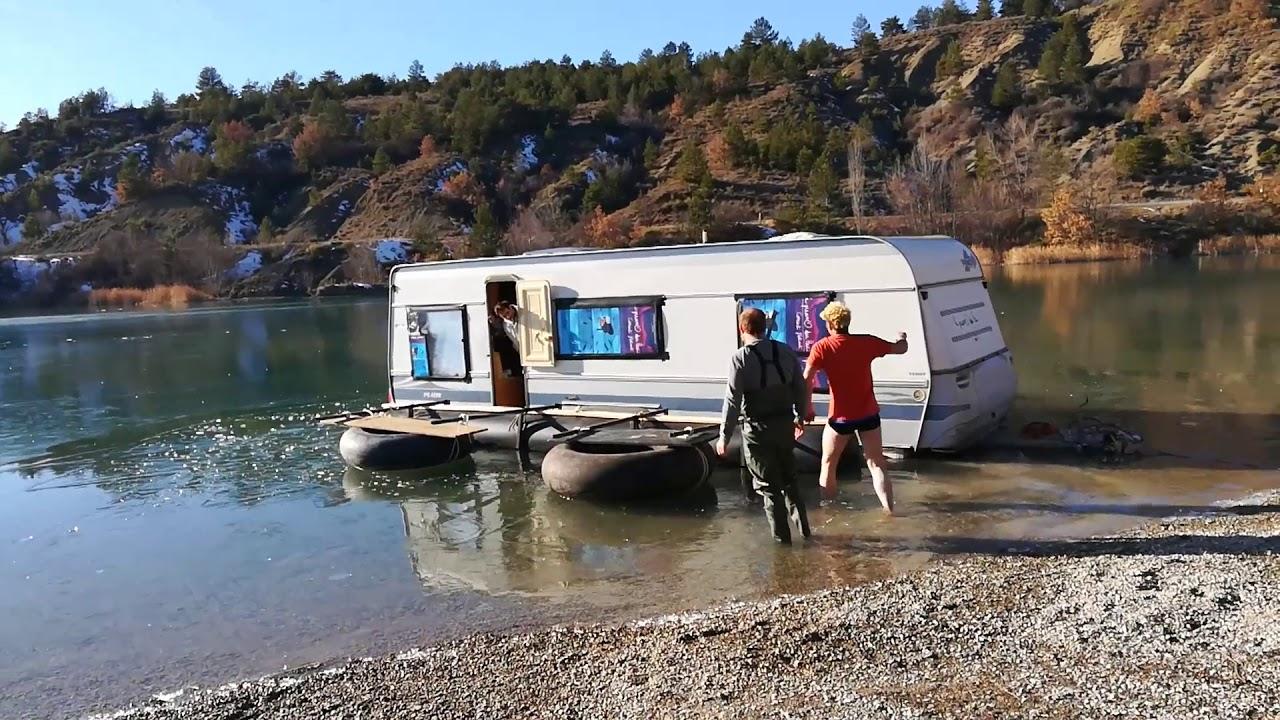 l'eau se brancher caravane