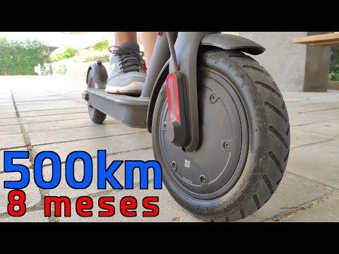 Patinete de Xiaomi M365 tras 500km recorridos - Mis opiniones finales tras 8 meses