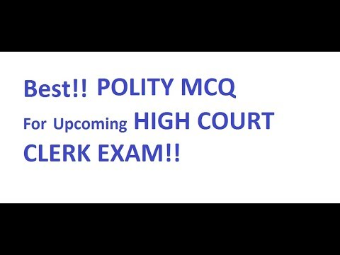 Frequently Asked MCQs of POLITY...|SSC||RRB||Other state Exams...