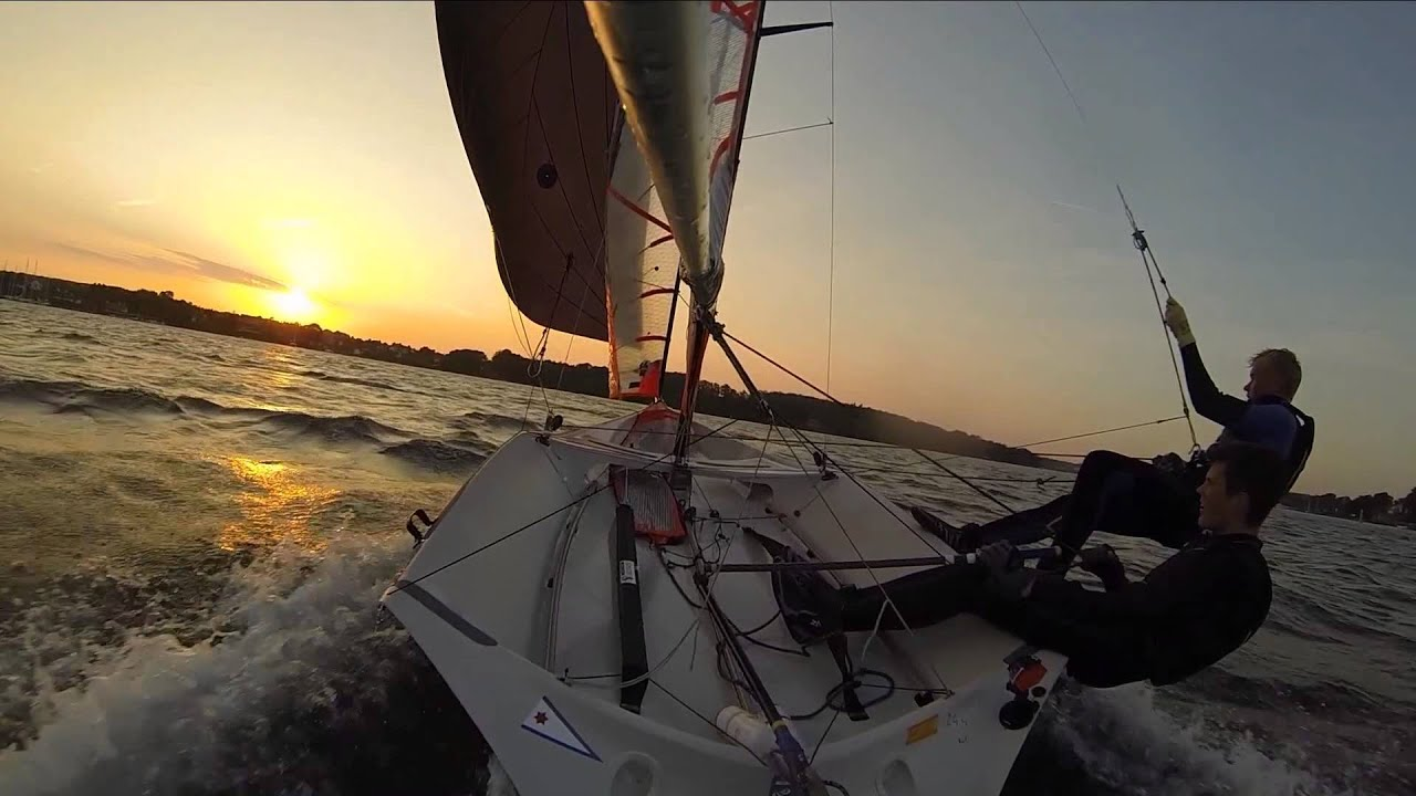 29er Head Cam Sailing - GoPro - YouTube